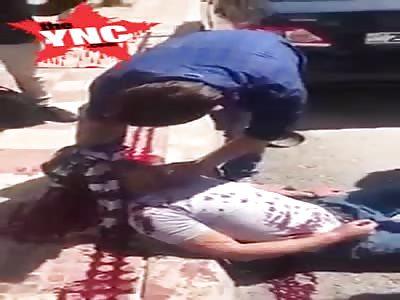 youth stabbed  in Jordan inside a school in Abu Nusair