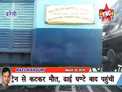 The body of 50-year-old Abdul Hassan of Attariya of CB Ganj, Bareilly, was found