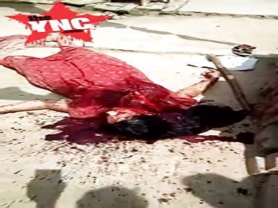 A Haivan husband murdered his wife  n the area of Kotwali Sitapur, Mohalla Shyam Nath