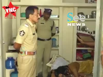 A married woman was killed in  Dhanalakshmi
