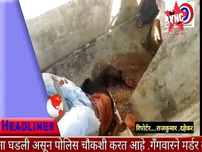 man killed in the wood chipper in Gondakhairi, Maharashtra