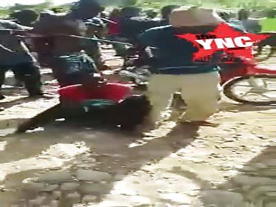 thiefs lynched in Haiti