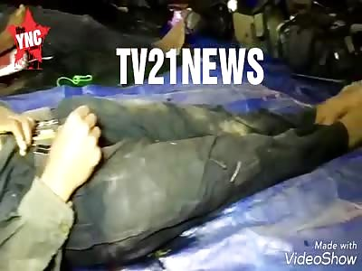 woman (communist) shot dead with a ak-47 in  Odisha