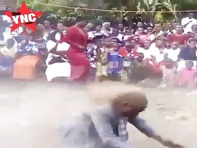 very strange Zimbabwean pastor