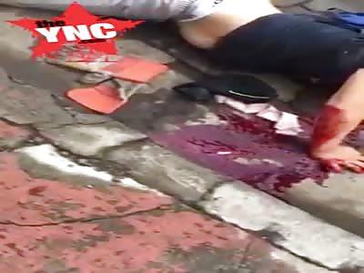 man shot in Nicaragua