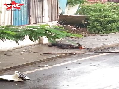 a roasted Indian when Chartered Plane Crashes In Ghatkopar; Five dead including pilot