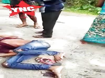 man kills him self in nepal