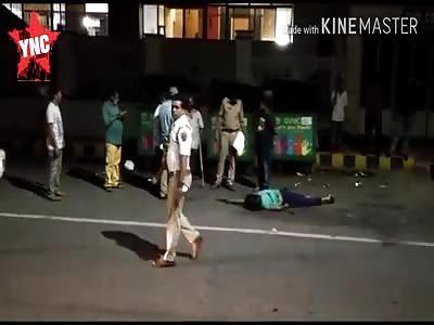 Rowdy Sheeter Kasim was murdered   in LIC Building Road Visakhapatnam