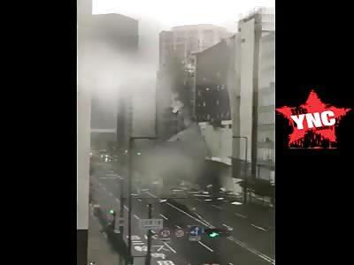 Typhoon Jebi: Strongest storm to hit Japan in 25 years