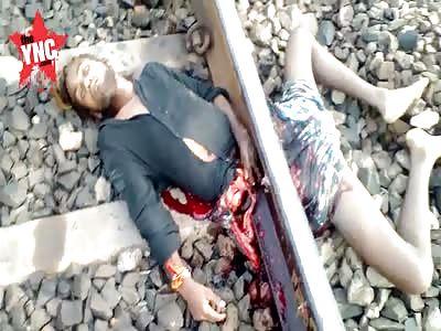 death of young man by train cut in Ghutku