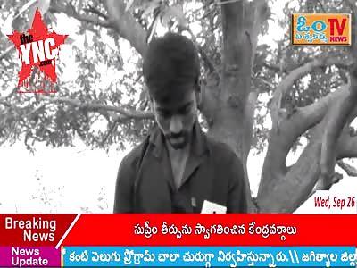A man named Katchekala Kiran (aged 26) of Adadhi Koratikal village committed suicide