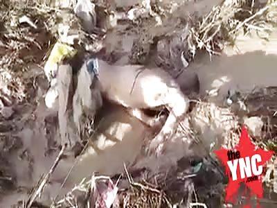 dead body found in Sidi Askar Dahmani in Tunisia
