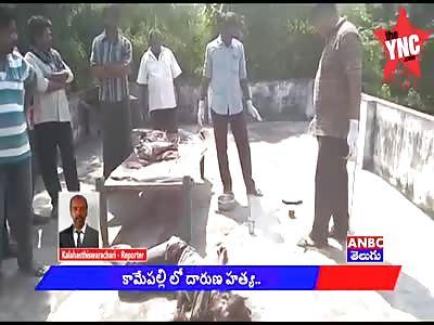 Murder of a man in Kamemapalli
