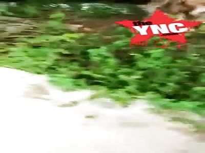 The discovery of the rotting dead body of  Eko winarso in Wajok Hilir