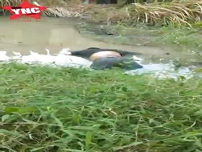 floating Body discovery  in  Tebing Tinggi