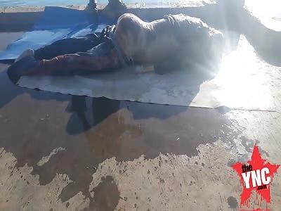 The discovery of a dead body in the Demak Regency