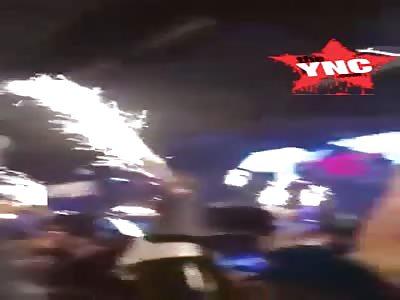 south Korea  Celebrating 2019 Countdown accident