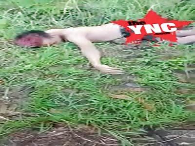 body discovery in Jl. Karangpucung - Sidareja