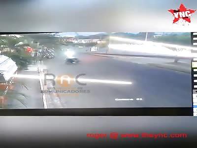 A head-on collision  in Dominican Republic