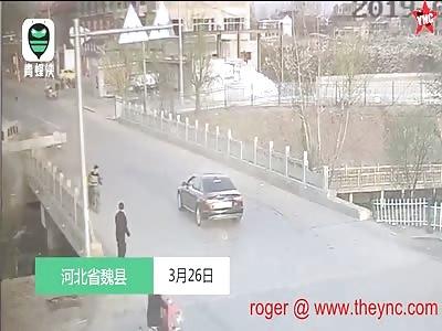 bad luck accident in Hebei