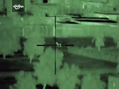 (Repost) Night vision sniper kills in Ghouta