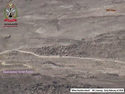 Compilation of Houthi attacks in Yemen
