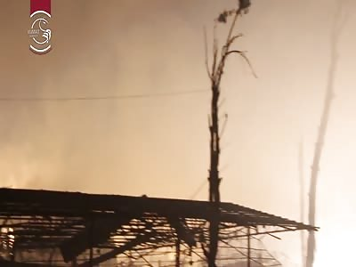 Assad rains down white phosphorus on Duma