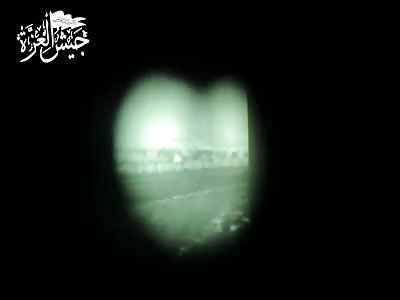 FSA fire flaming Fagot at regime checkpoint