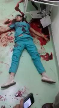 Throat-slit Body of Female Paramedic found at Naryana Hospital