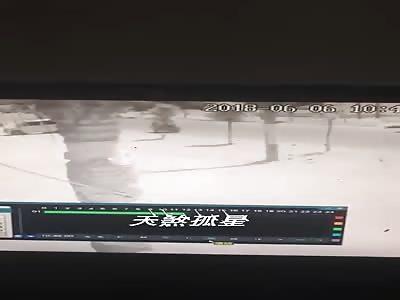 Accident caught on CCTV II