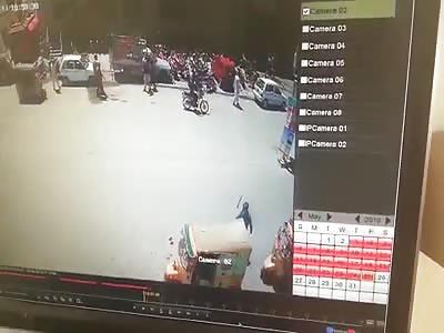 Accident caught on CCTV VI