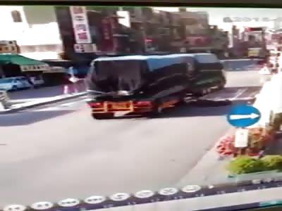 Accident caught on CCTV VIII
