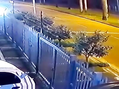 Accident Caught on CCTV III