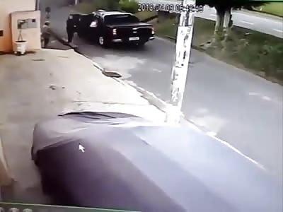 Live Accident Caught on CCTV IX