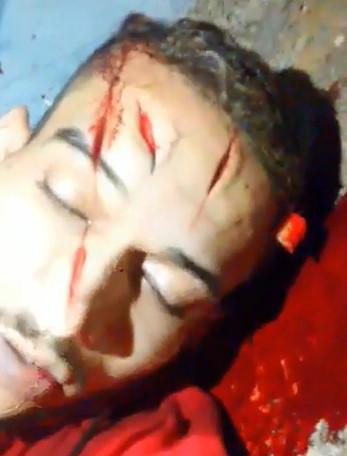 Man was Killed with a Machete While he Sleeps Drunken