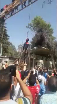 Rapist is Publicly Hanged in Iran
