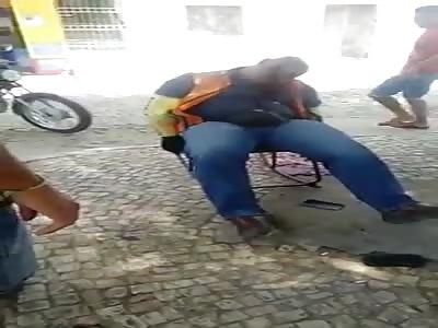Bloody Murder Scene from Brazil