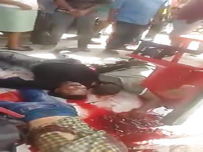 8 Dead in Bloody Homicide Scene (more footage)