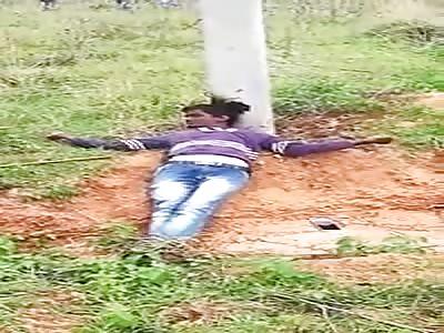 Farmer Electrocuted to Death