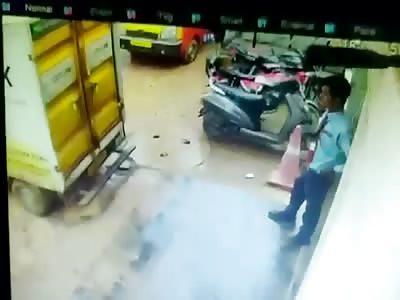Live Accident Caught On Camera.. VI