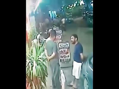 Live Murder Caught On Camera