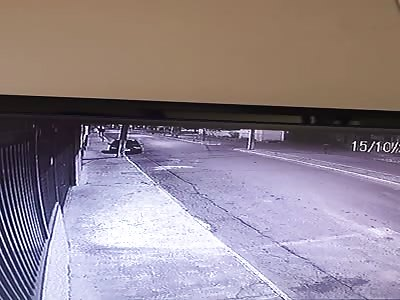 Female Pedestrian is Flipped Like a Rag Doll