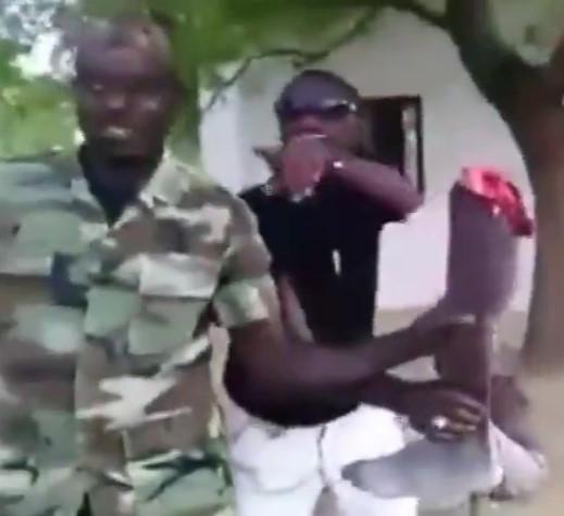 Snap Crackle and Pop, Rebels in Sudan Cut Man's Leg Off