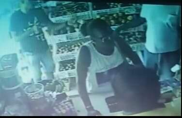 CCTV Footage Captures Brutal Assassination at the Store