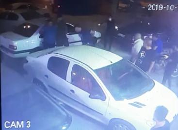Assassination in Israel CCTV