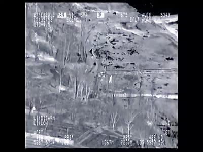 A-10 Turns Taliban Machine Gunners Into Soup – With BDA