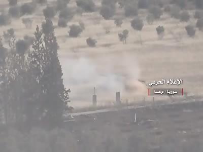 New SAA Offensive Makes Gains in Daraa Against the FSA and Al-Qaeda