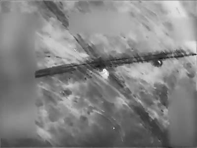 US airstrike destroys Da'esh vehicle
