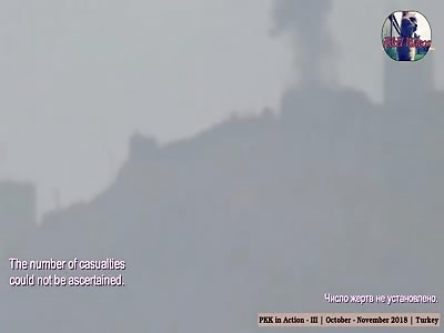 PKK attacking Turkish military | October- November 2018