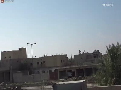 Kurds Blow Up Massive ISIS Car Bomb (3 Cameras)